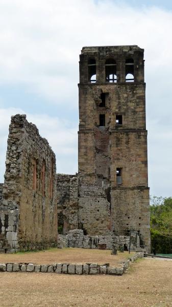 Ruine Panama Viejo, Panama Stadt