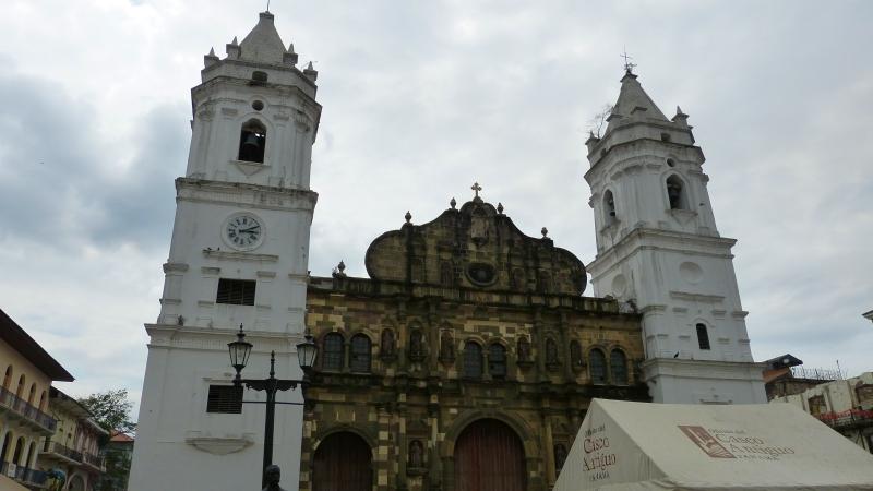 Catedral Metropolitana in Panama City, Panama Stadt
