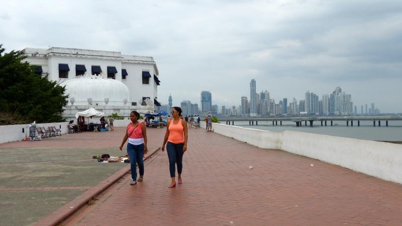 Ausblick auf Skyline Panama City, Panama