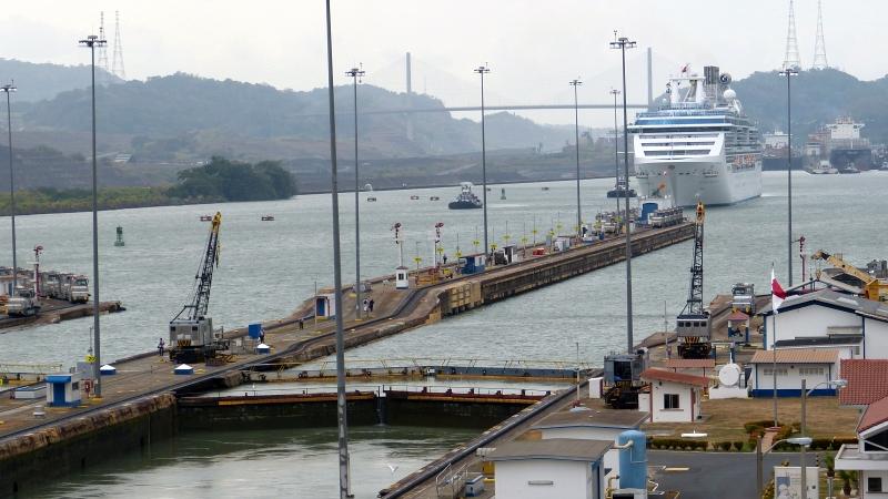 Panamakanal Miraflores, Panama Stadt