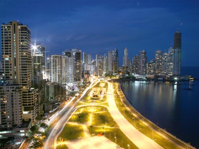 Avenida Balboa Panama City, Panama Stadt