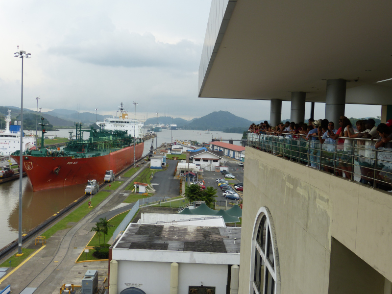 Panamakanal Aussichtsplattform Miraflores, Panama Stadt