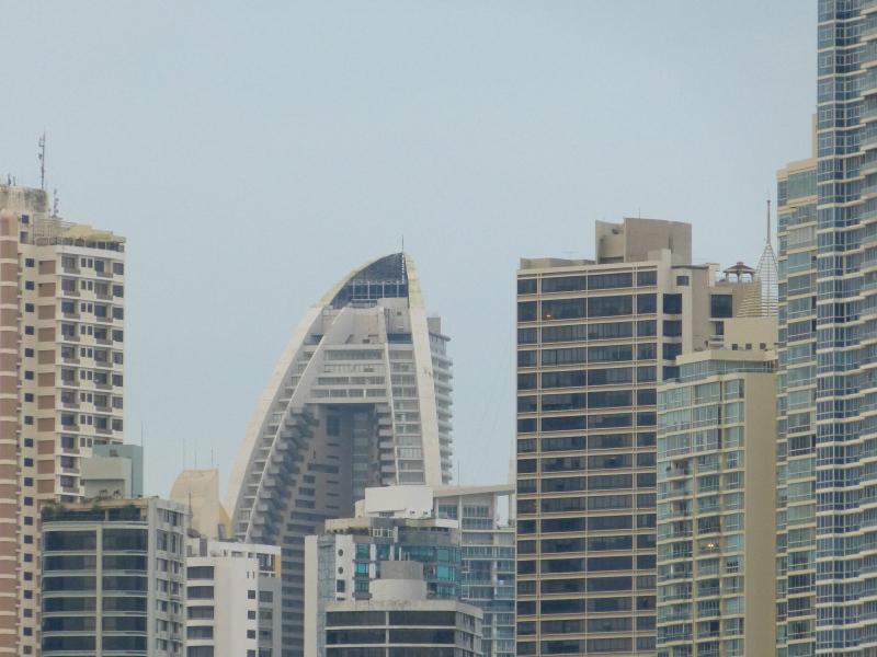 Skyline Panama City mit Hotel Trump Towers, Panama