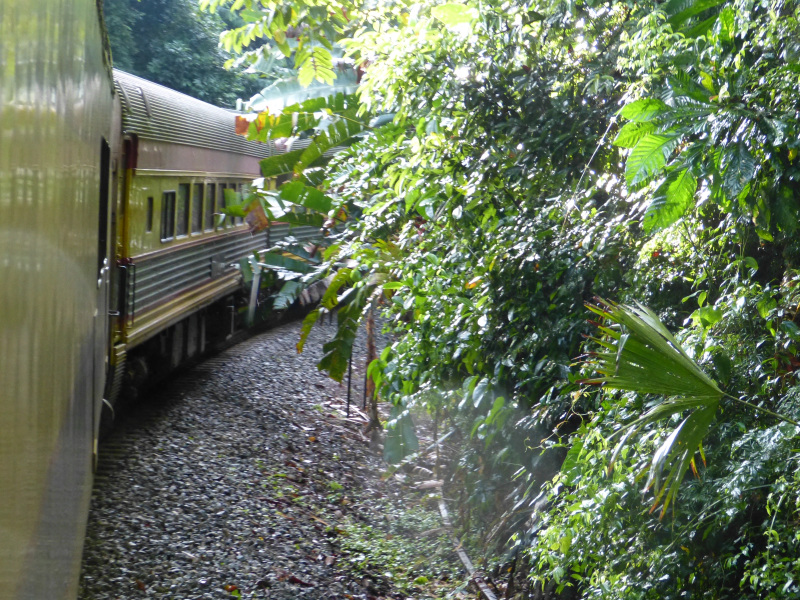 Zug Panama City Colón, Panama Stadt