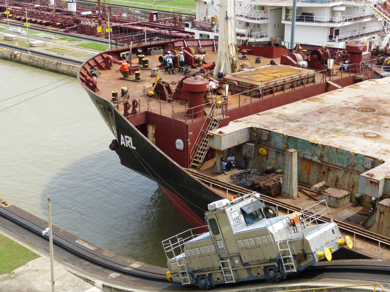 Reidelocks Panamakanal Miraflores, Panama Stadt