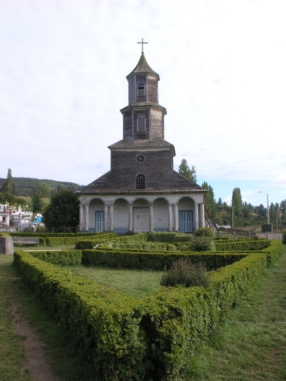 Kirche in Chiloé, Chile