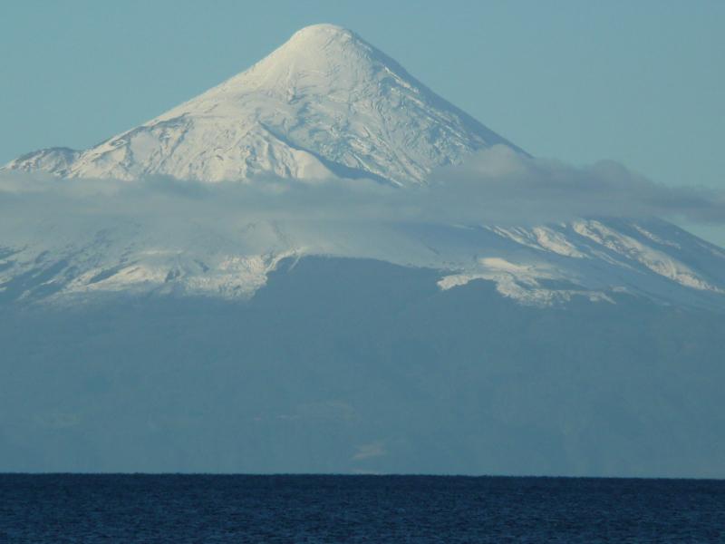 Bllick auf Vulkan Osorno, Puerto Varas, Chile