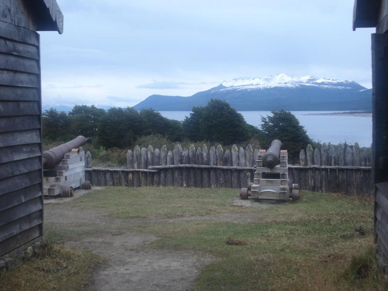 Festung Bulnes, Punta Arenas, Patagonien, Chile