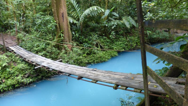 Rio Celeste im Tenorio Nationalpark, Costa Rica