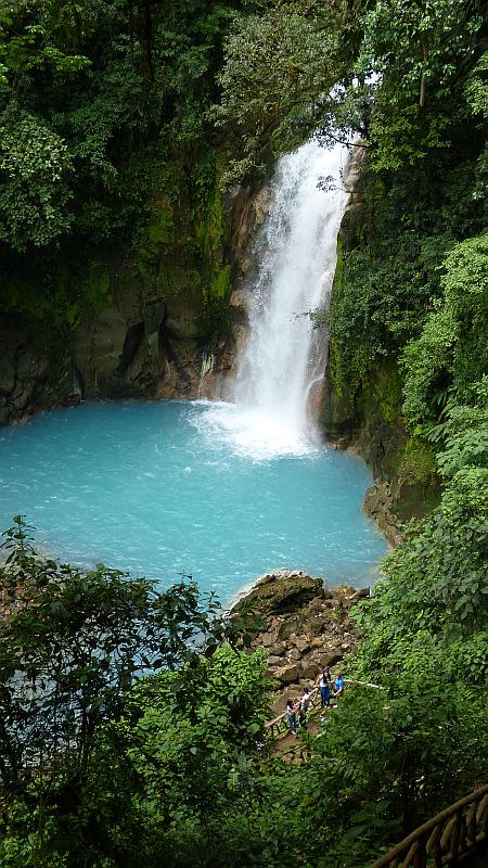 Wasserfall Tenorio Nationalpark, Costa Rica