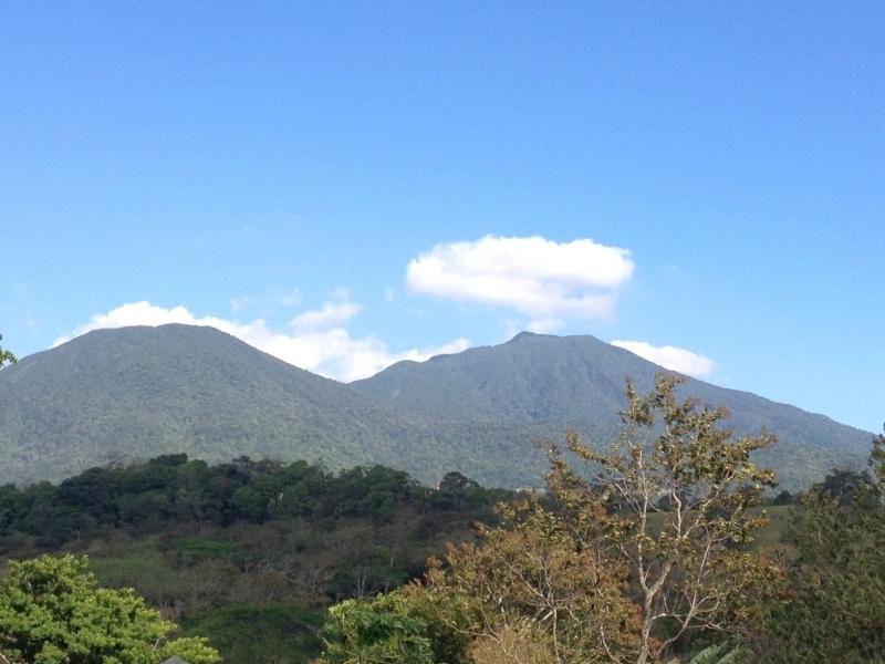 Blick auf den Vulkan Tenorio im Nationalpark, Costa Rica