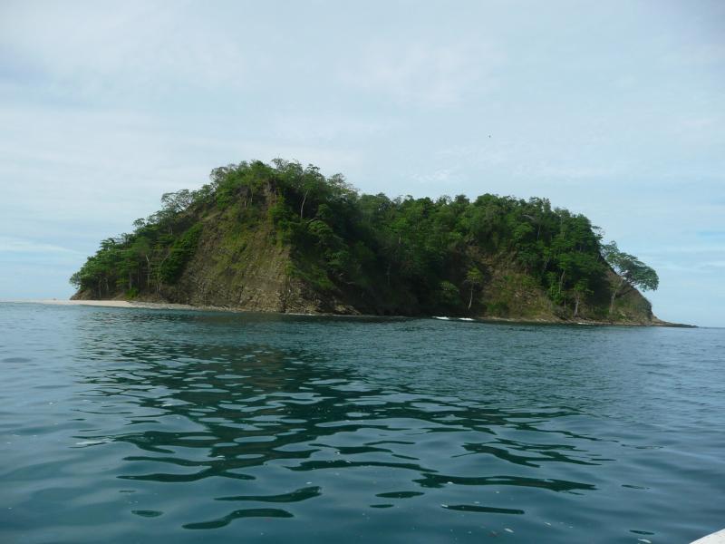 Insel Chora vor Playa Samara Pazifik, Reiseinformationen Costa Rica