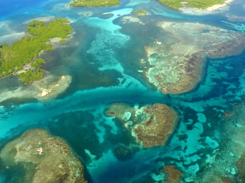 Luftaufnahme San Blas Inseln Panama