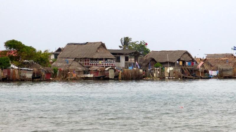 Dorf der Kuna Playa Chicón San Blas Inseln Panama