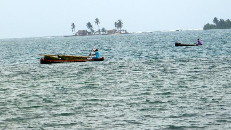 einheimische Bevölkerung Kuna San Blas Inseln Panama