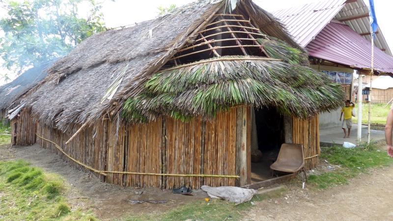 Haus der Kuna San Blas Inseln Panama