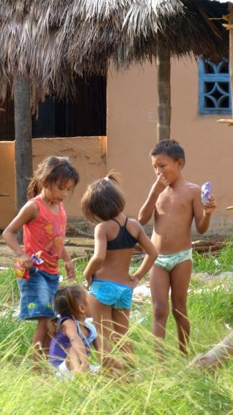 einheimische Bevölkerung Kuna auf San Blas Inseln Panama