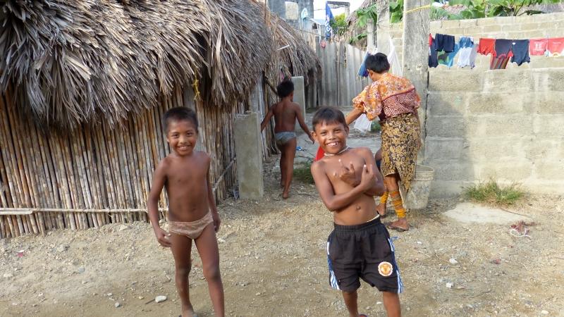 Kuna einheimische Bevölkerung der San Blas Inseln Panama