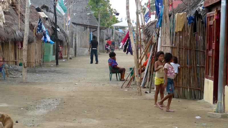 Kuna Dorf San Blas Inseln Panama