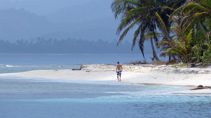 Baden Playa Chicon San Blas Inseln Panama