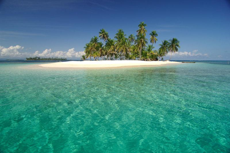 traumhafte Insel San Blas Inseln Panama