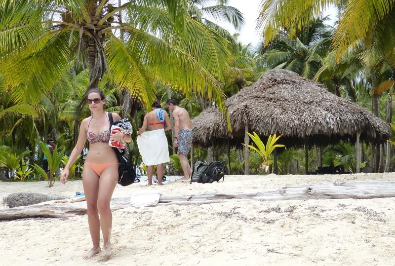 Badeausflug San Blas Inseln Panama