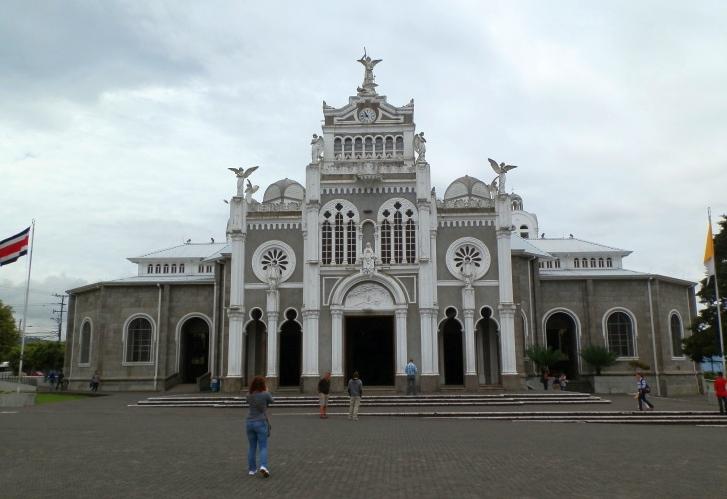 Kirche Basilica in Cartago bei San José, Costa Rica