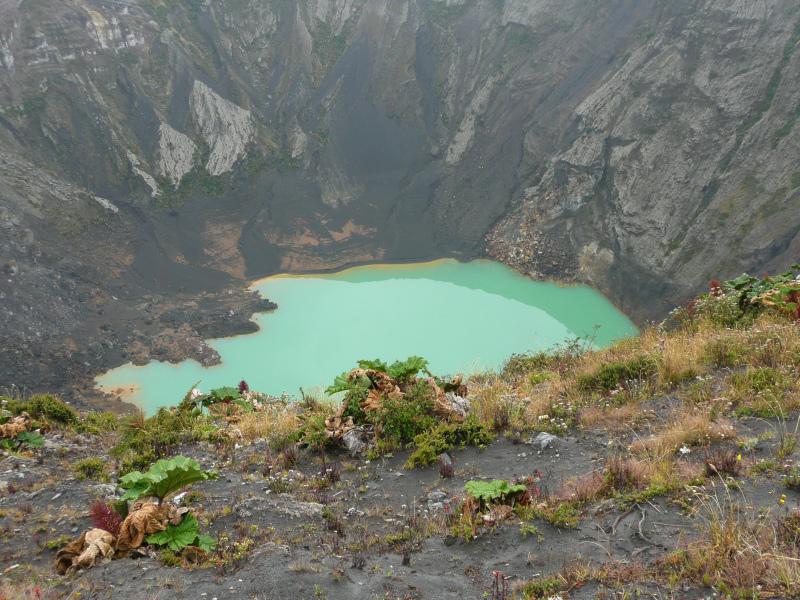 Kratersee Vulkan Irazú, Costa Rica