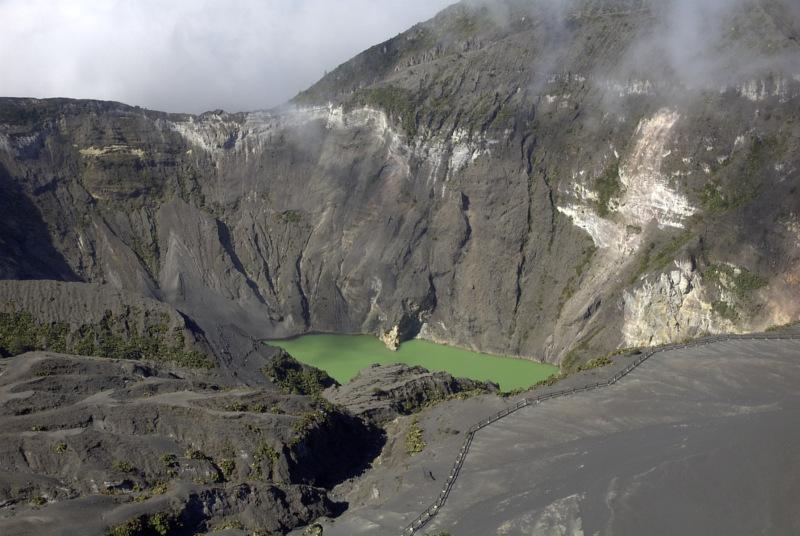 Krater Vulkan Irazú, Costa Rica