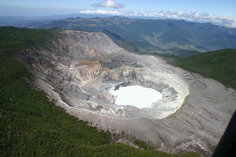 Krater Vulkan Poas, Costa Rica