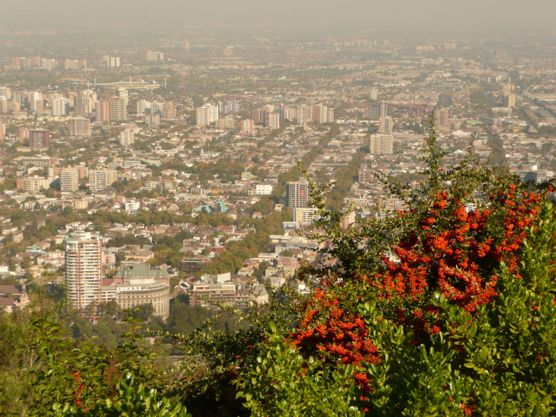 Cerro San Christóbal, Santiago, Chile