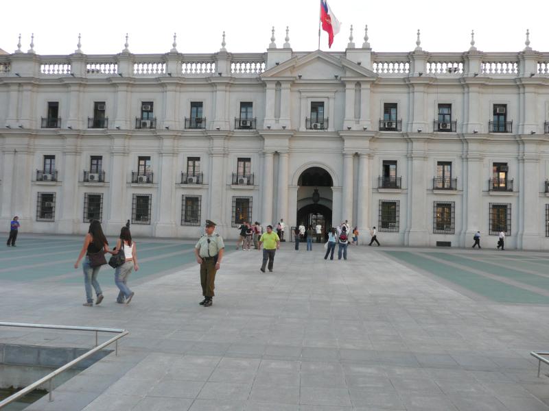 Regierungssitz La Moneda, Santiago de Chile