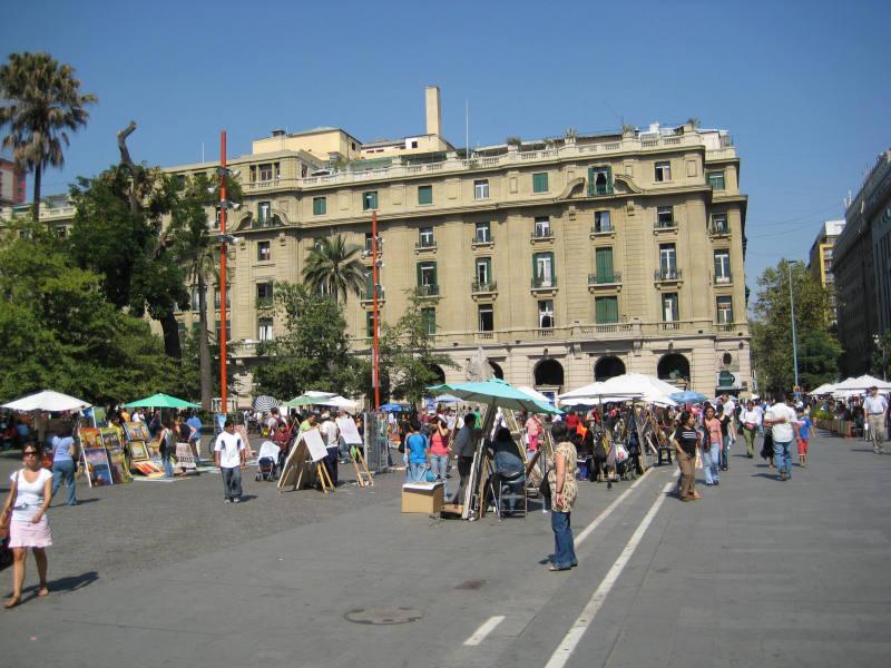 Zentrum Plaza de Armas, Santiago de Chile