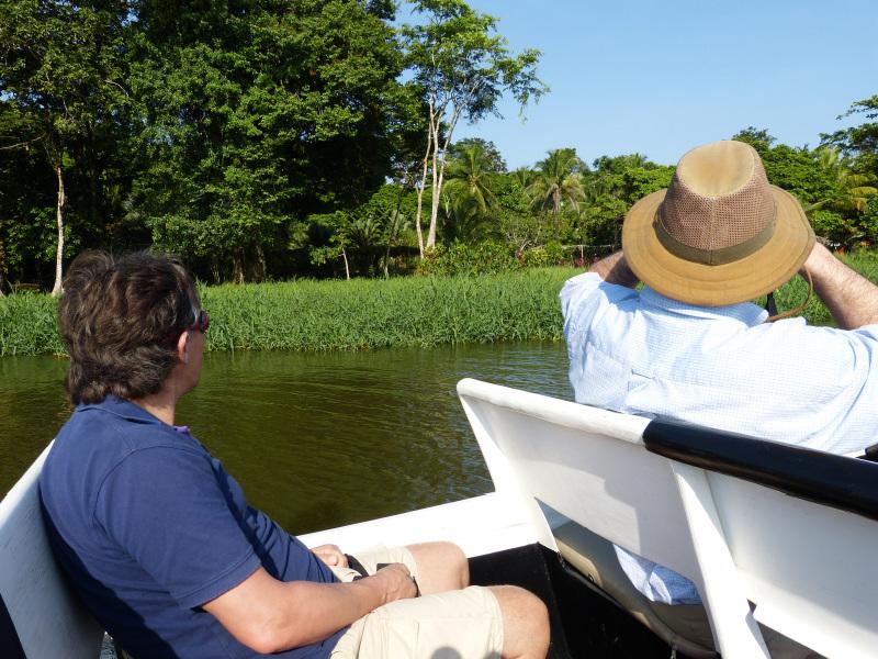 Bootsfahrt im Nationalpark Tortuguero, Costa Rica