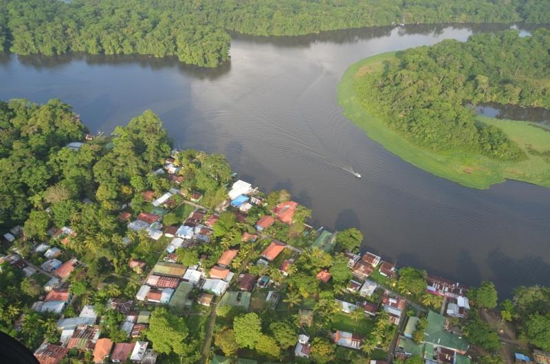 Luftaufnahme Nationalpark Tortuguero, Costa Rica