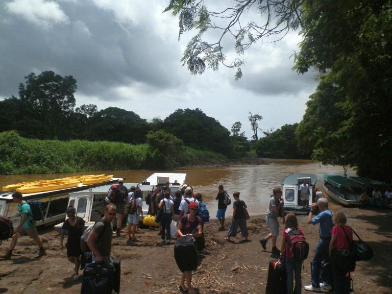 Anreise per Schiff in Nationalpark Tortuguero, Costa Rica