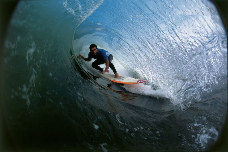 Wellenreiten, Tumbes, Peru