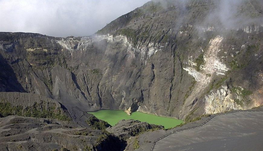 Vulkan Irazu Costa Ricas