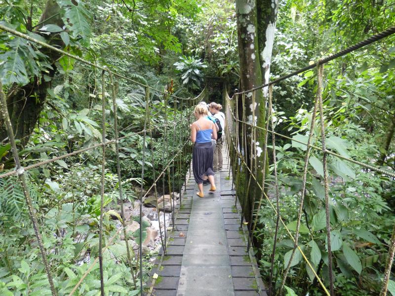Wandern im Valle de Antón, Panama