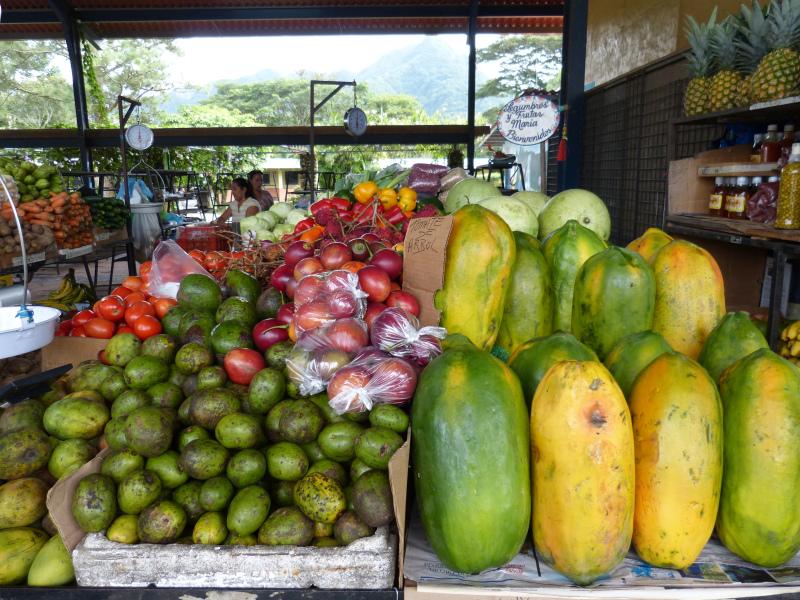Markt im Valle de Antón, Panama