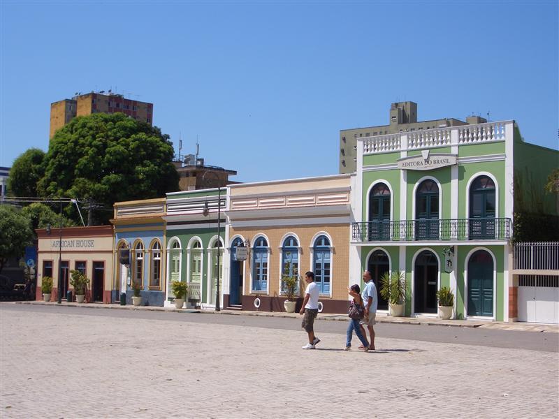 Altstadt, Manaus, Brasilien