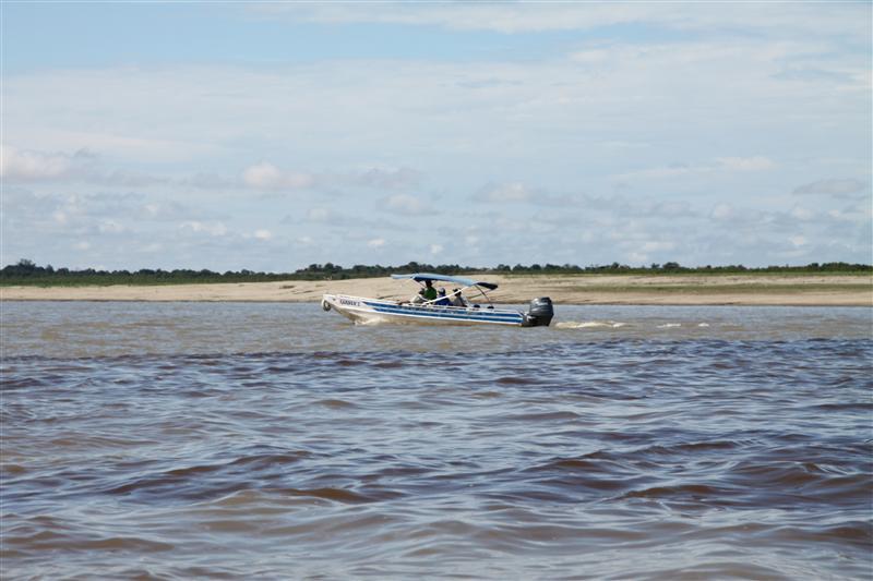 Bootsfahrt auf dem Amazonas, Manaus, Brasilien