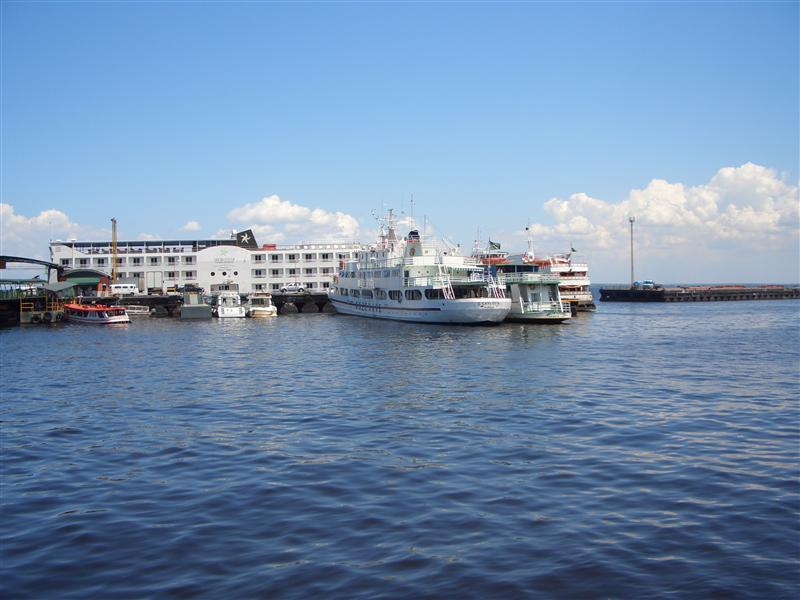 Hafen von Manaus, Brasilien