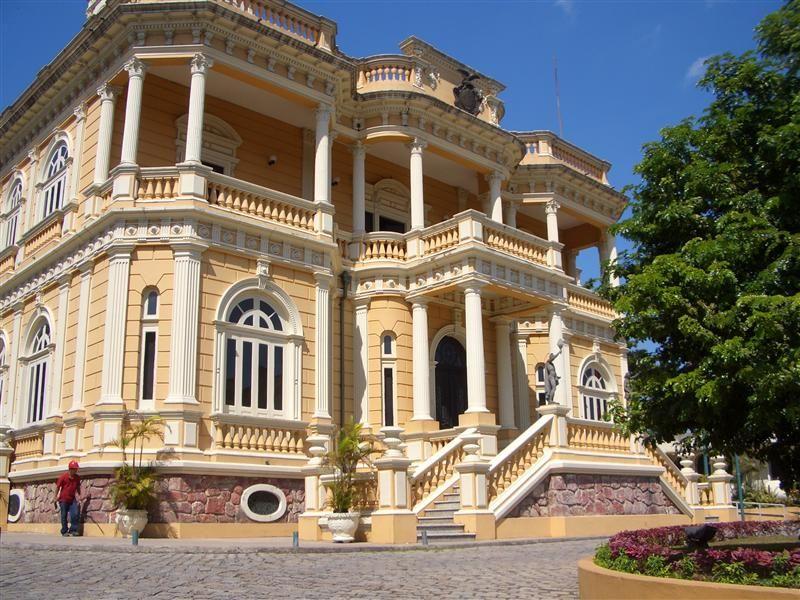 Palacio Rio Negro, Manaus, Brasilien