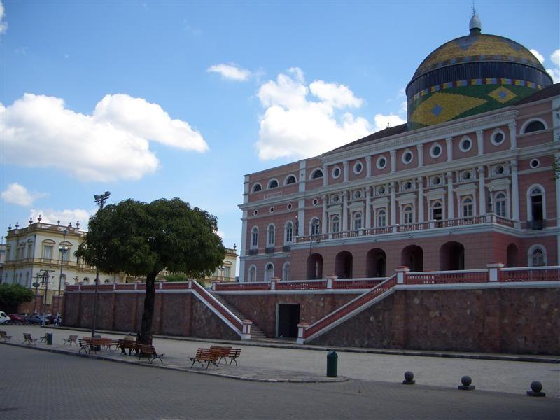 Teatro Amazonas, Manaus, Brasilien