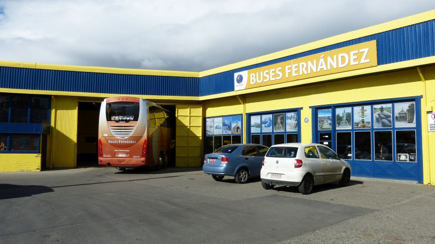 Busbahnhof Punta Arenas Chile
