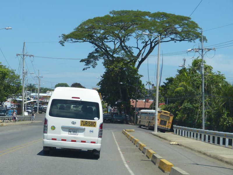 Minibus Costa Rica