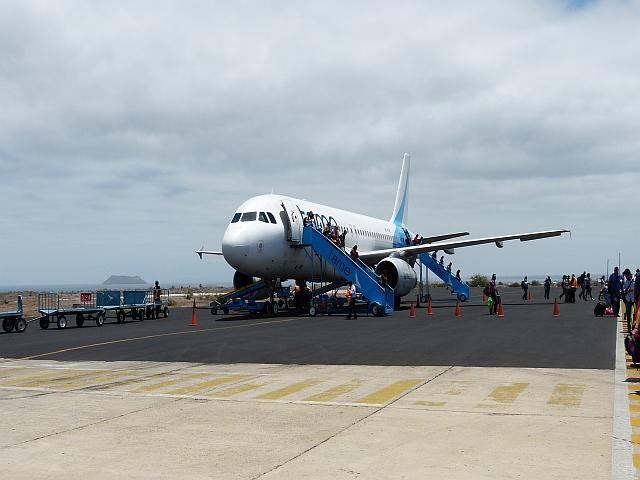 Flughafen Baltra Galapagos