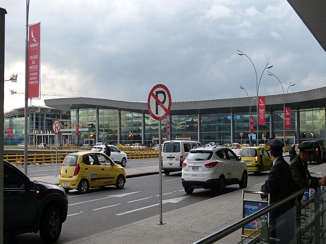 Flughafen Bogotá Kolumbien
