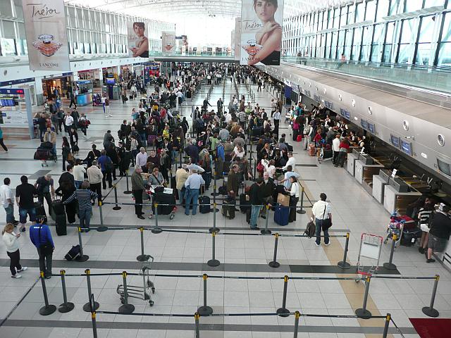 Flughafen Ezeiza Buenos Aires, Argentinien